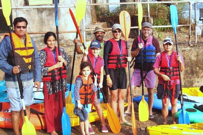 Kayaking On River Nerul In Goa