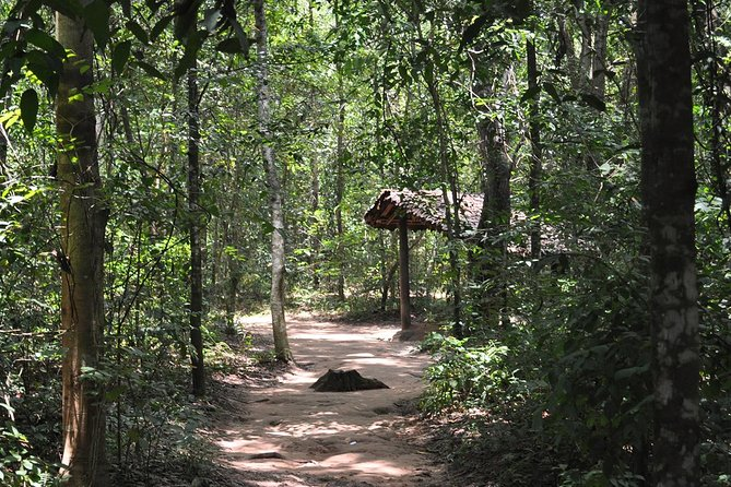 Cu Chi tunnel half day tour