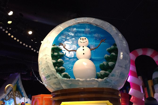 Holiday Celebration Tour: Ice Slides and Life-Sized Gingerbread Houses