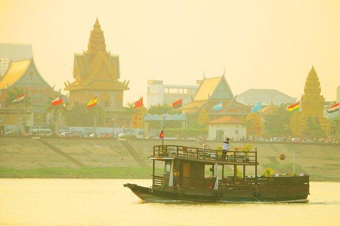 Mekong Silk Island Cruise - unbegrenzt Bier, alkoholfreie Getränke und frische Obstteller