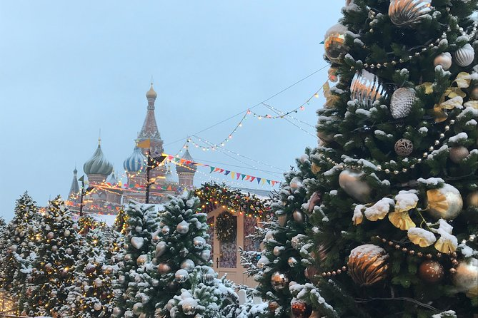Christmas and New Year Moscow