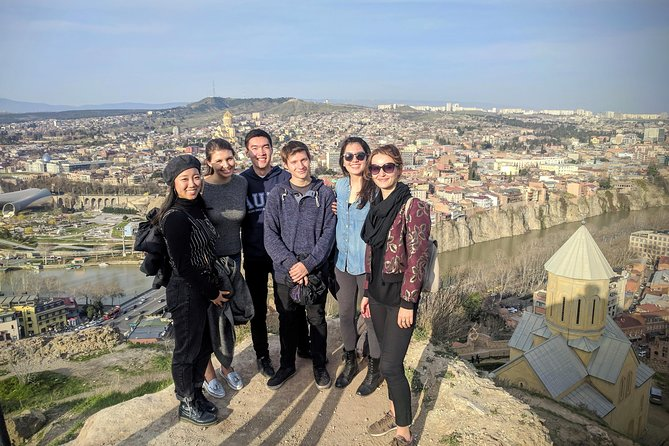 Tbilisi Walking Tour with Cable Cars, Wine Tasting and Traditional Bakery photo 9