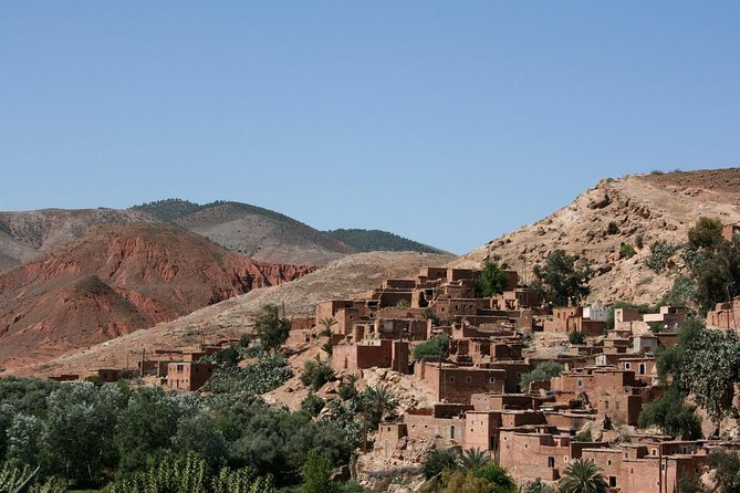 Day Excursion to Atlas Mountains With Camel Ride From Marrakech