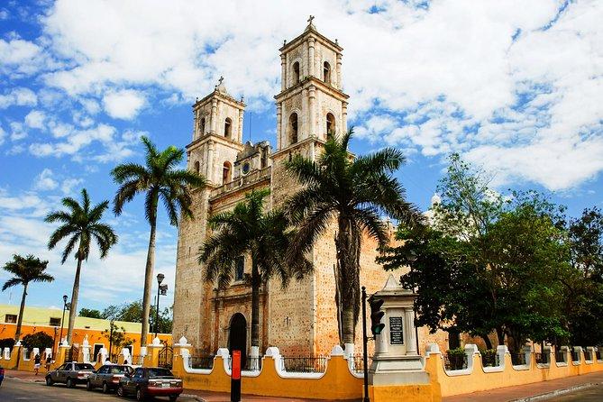Excursión privada a Chichén Itzá, cenote y Valladolid con todo incluido desde la Riviera Maya