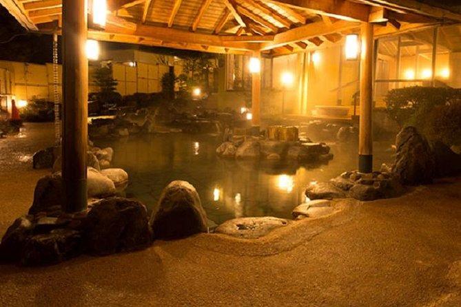 Skip the Line: Hakone Kowakien Yunessun Ticket(morinoyu only hot spring zone)