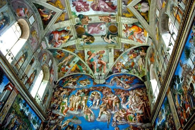 Sistine Chapel and Vatican Museums Guided Small Group Tour