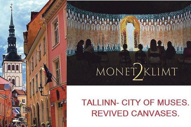 1h ART walking tour + 45min of Monet2Klimt exhibition. Tallinn the city of muses