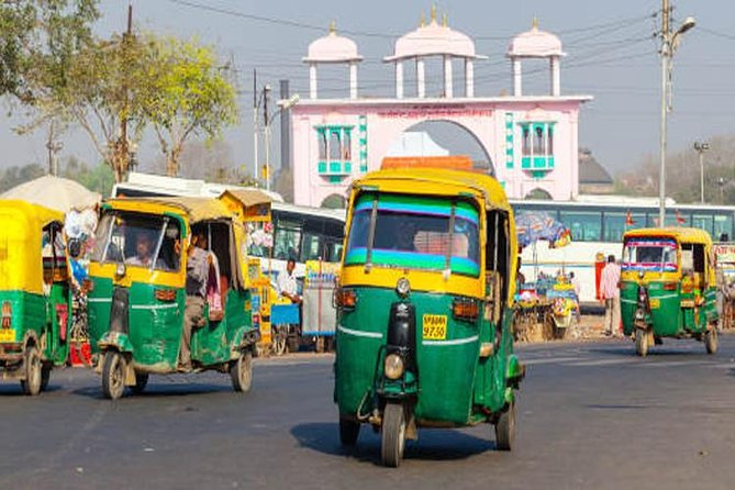 Taj Mahal Tour by Tuk Tuk in Agra