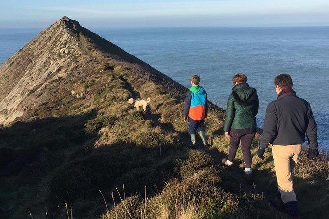 Guided walk on the remote and wild North Cornish coast