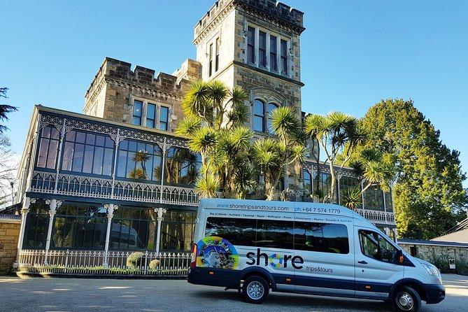 Excursão Terrestre: Destaques Dunedin com o Castelo Larnach