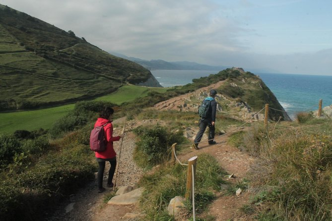 Small-Group Walking Tour of Basque Coast Geopark from San Sebastián
