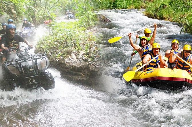 BALI RAFTING and ATV TOUR COMBINATION (ALL INCLUSIVE )