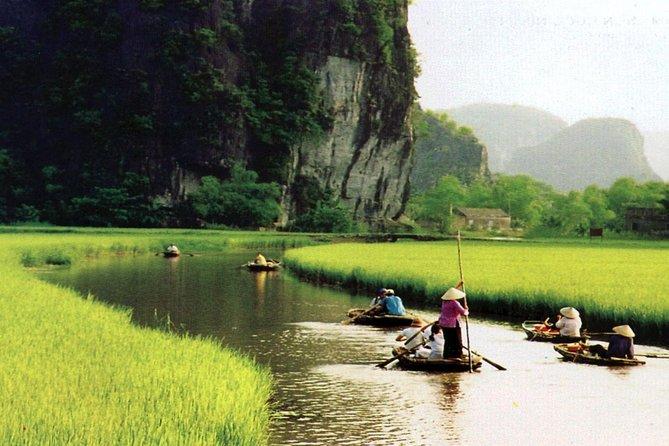 Vietnam Ancient Capital - Hoa Lu and Tam Coc Tour