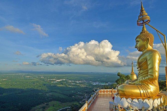 Krabi City Tour including Reclining Buddha, Tiger Cave Temple & Khao Khanab Nam