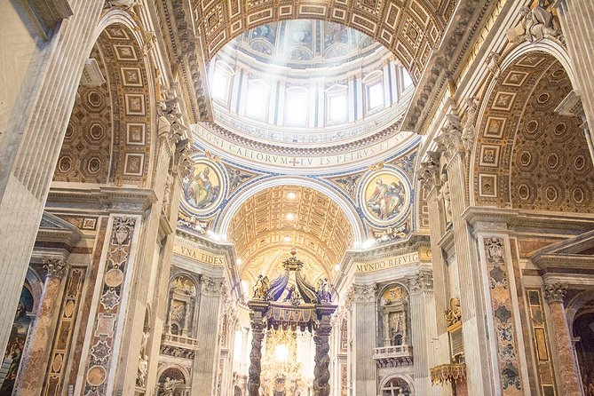 Skip-the-line Tour of the Vatican Museums Sistine Chapel & Saint Peter Basilica