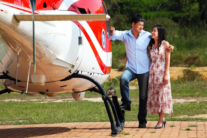 NYC to Glenmere Mansion: Private Helicopter Engagement Experience