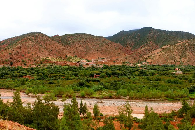 Private day trip from Marrakech to Ourika Valley with Setti Fatma Waterfalls