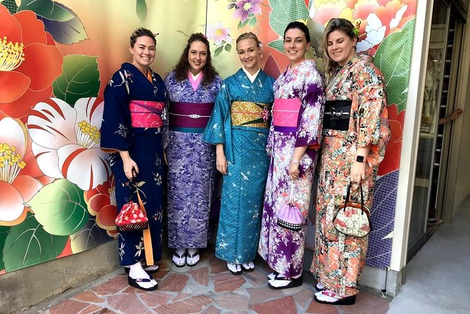 Kimono trip in historical Kanazawa