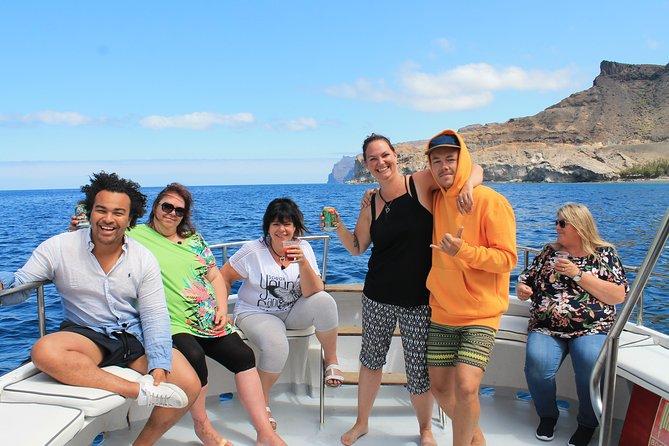 3 uur boot- en snorkeltocht in Puerto de Mogan