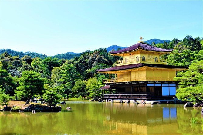 Kyoto Full-Day UNESCO and Historical Sites Shared Tour