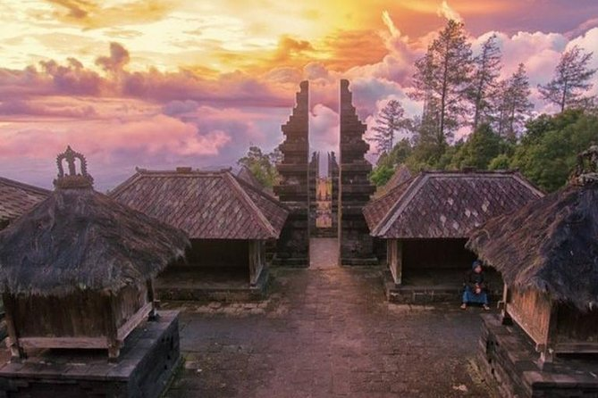 Cetho Temple, Sukuh Temple and Solo Waterfalls Day Tour from Yogyakarta