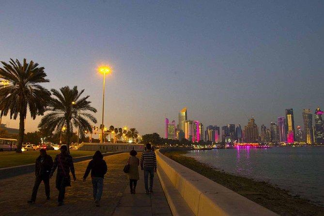 Qatar day tours Corniche walk 1