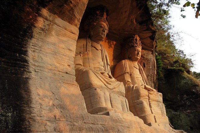 330 USD Per Group Private Anyue Ancient Rock Carvings Learning Tour