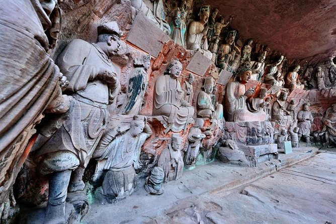 280 USD Per Group Private Anyue Ancient Rock Carvings Learning Tour