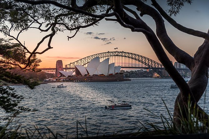 Brilliant Sunset Sydney Harbour Photography Tour