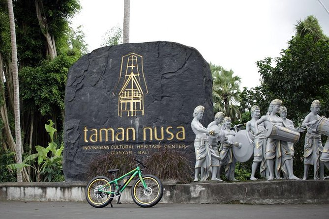 Gianyar Waterfall Cultural E-Bike Half Day Tour (optional) Taman Nusa Park