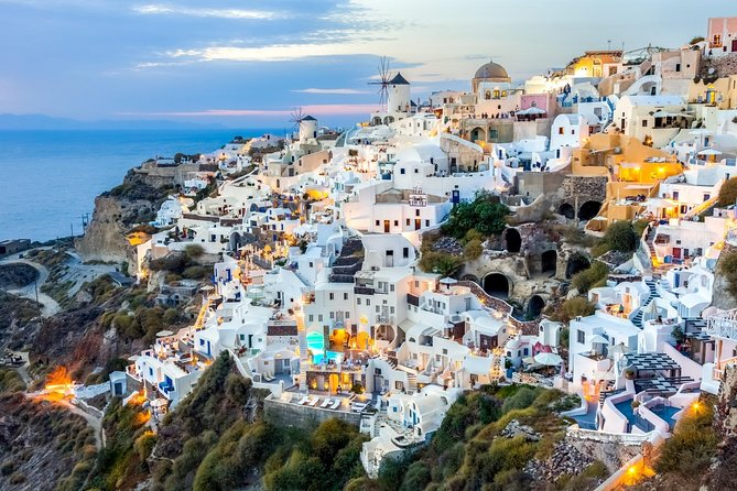 Full-Day Trip to Santorini island by Boat from Chania