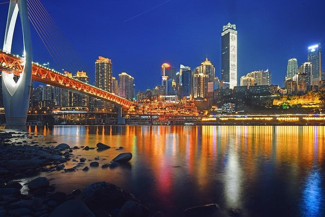 250 USD Per Group Private Chongqing Night Tour with Hot-pot Dinner