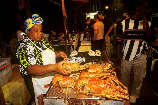 Friday Night Street Party in St. Lucia