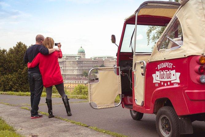 Privat romantisk Budapest Tuk Tuk Tour
