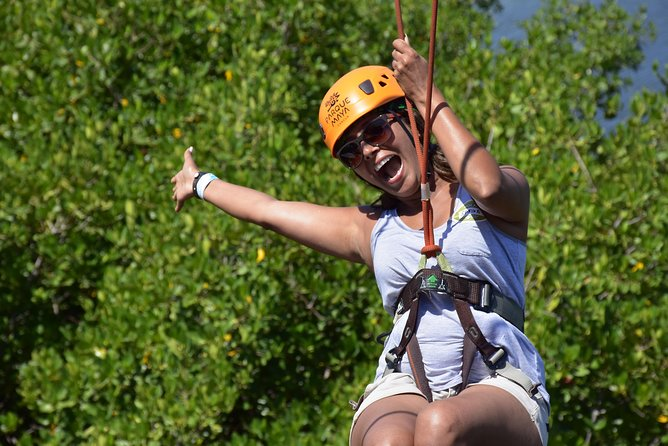 Cancun ziplines and mangrove sightseeing tour photo 2