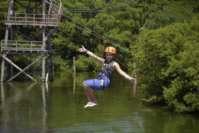 Cancun ziplines and mangrove sightseeing tour photo 9