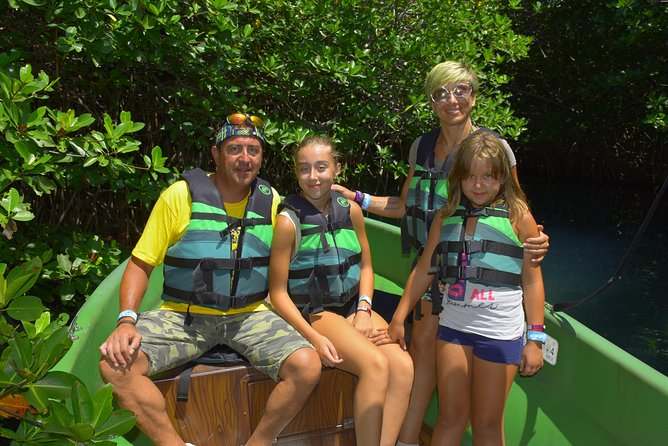 Cancun ziplines and mangrove sightseeing tour photo 10