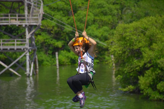 Cancun ziplines and mangrove sightseeing tour photo 7