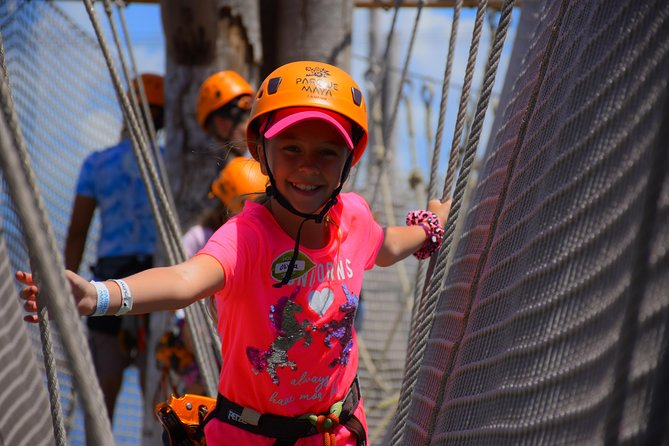 Cancun ziplines and mangrove sightseeing tour photo 3