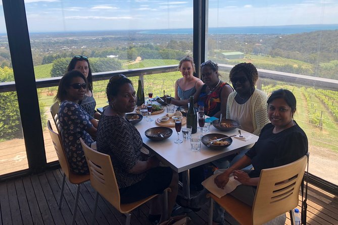 Yarra Valley, Dandenong Ranges inc. lunch with wine,plus morning tea,chocolate