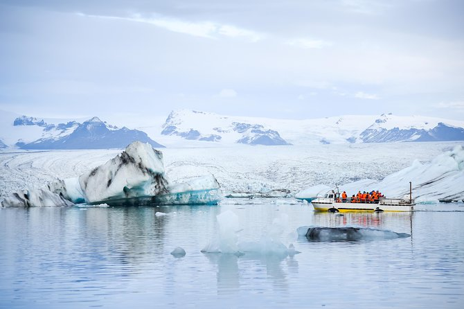 2 Day Tour to Jokulsarlon with Glacier Hike - Boat Tour - South Coast Waterfalls