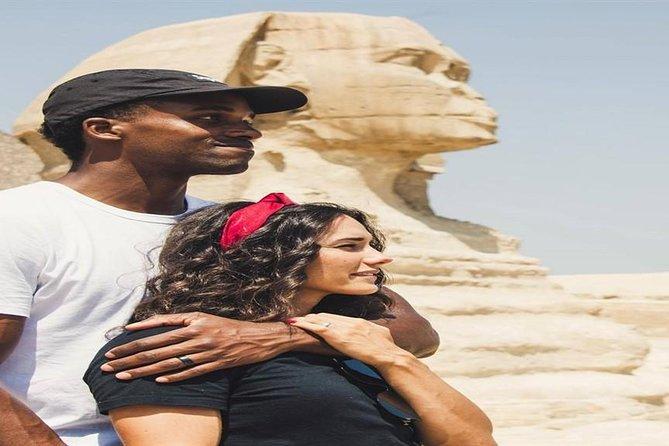 Private Day Tour Giza Pyramids &Memphis &Saqqara&Camel ride &Lunch&Entrance fees