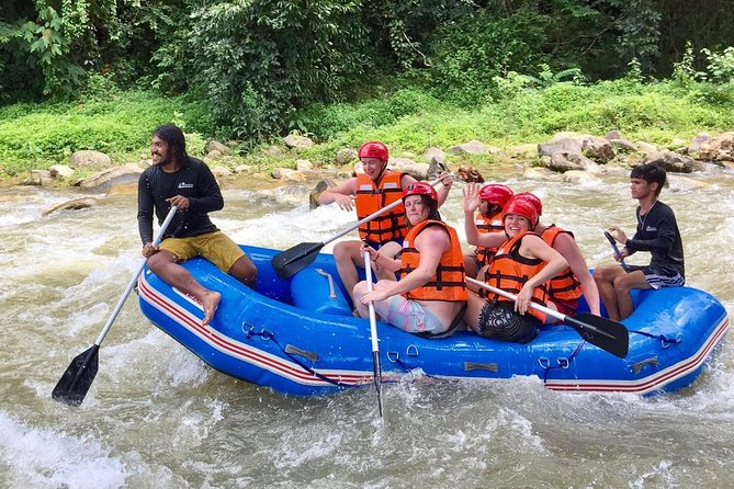 Full-Day Whitewater Rafting & ATV Adventure Tour from Krabi including Lunch