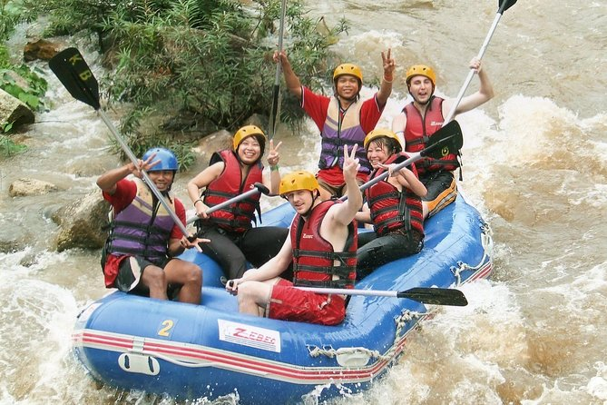 Whitewater Rafting & ATV Adventure Tour from Phuket including Lunch