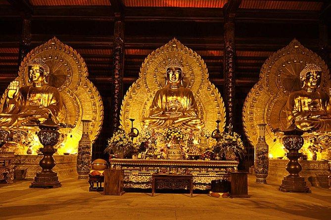 Trang An and Bai Dinh Pagoga One Day Trip Group Tour