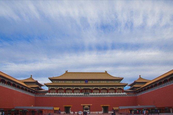 Beijing Capital Airport Layover Tour:Forbidden City,Mutianyu Great Wall