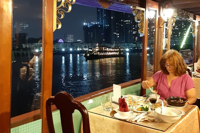 Saigon By Night Tour with Rooftop Bar and River Cruise
