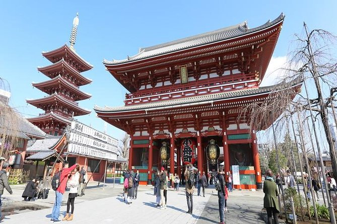 Asakusa Highlights Tour with Nationally-Licensed Guide