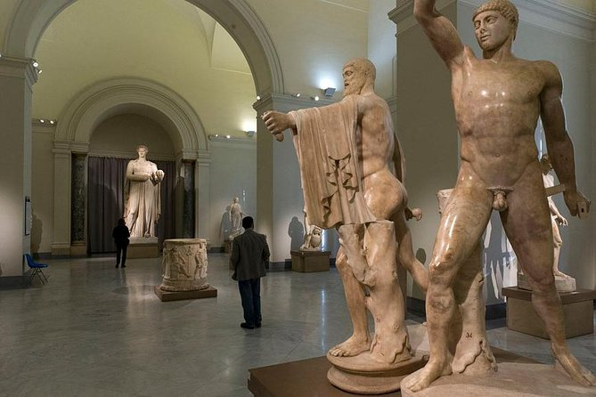 Tour of Pompeii+Herculaneum+National Archaeological Museum of Naples (Full Day)