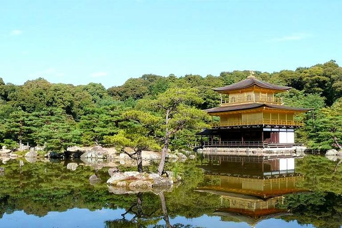 Golden Pavilion Kinkaku-ji Temple Highlights Tour with National Licensed Guide